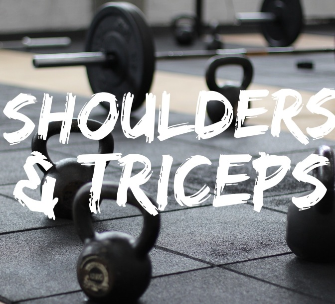 Training: Shoulders & Arms